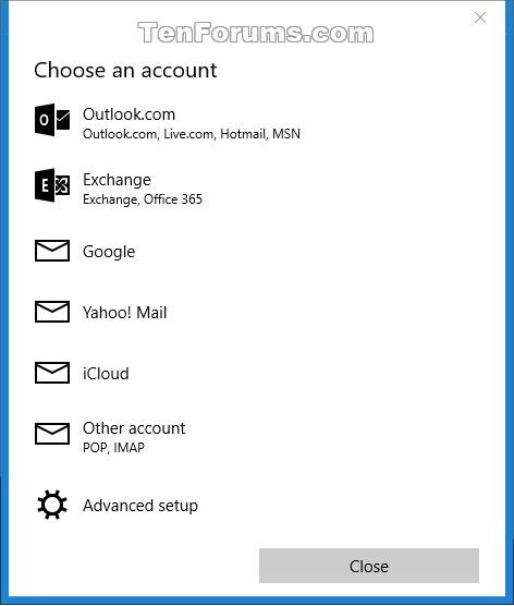 Add Calendar Windows Live Mail Windows Live Mail Free Download Mail App Add Or Delete Account In Windows 10 Windows