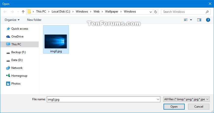 Change Mail app Background Picture in Windows 10 Windows 10 Tutorials - mail background
