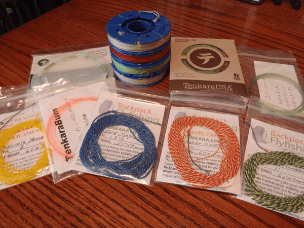 How to choose a tenkara line