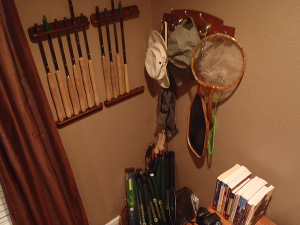 Tenkara Rod Rack 2