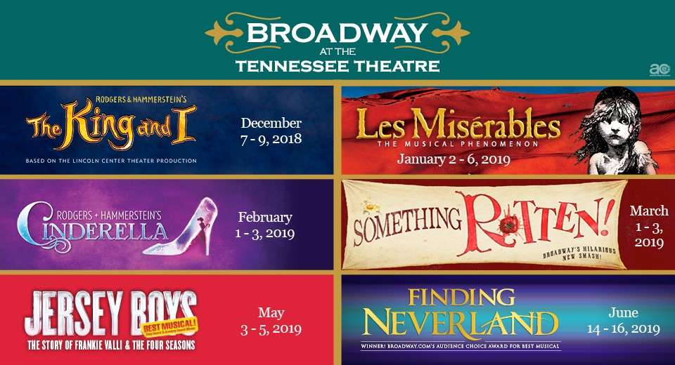 2018-2019 season Historic Tennessee Theatre - Est 1928 Knoxville