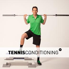 TNS Leg Workout for Beginners | Tennis Conditioning