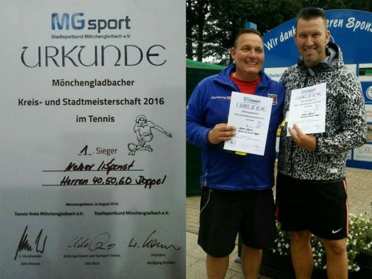 Herren-Doppel-StadtmeisterMG