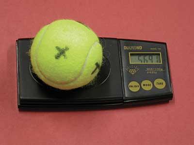 Ball Testing - Tennis Industry