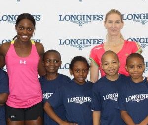 Stefanie_Graf_and_Sloane_Stephens_at_Longines_Center_Court_for_Kids