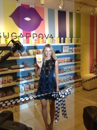 Sharapova Launch