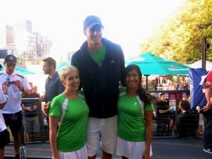 Australian Open Hub John Isner 1