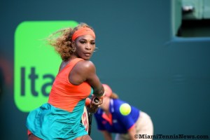 Serena Williams Photo courtesy of MiamiTennis News.com
