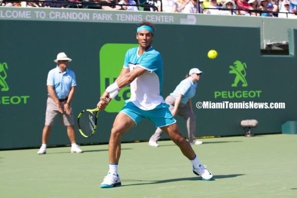 Rafael Nadal photo courtesy of MiamiTennisNews.com