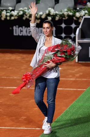 Flavia Pennetta photo courtesy of the WTA and Getty Images