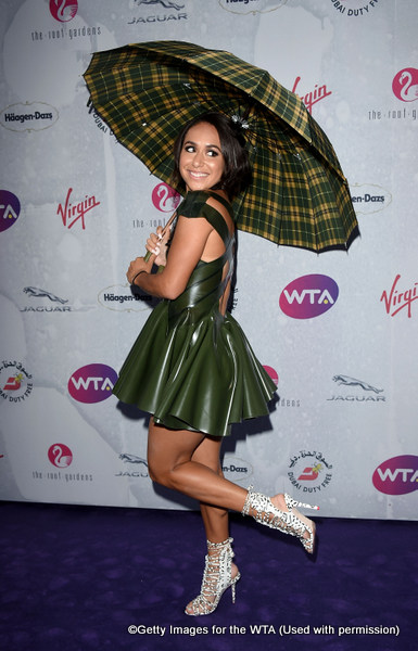 LONDON, ENGLAND - JUNE 23:  Heather Watson attends the annual WTA Pre-Wimbledon Party presented by Dubai Duty Free at the Kensington Roof Gardens on June 23, 2016 in London, England.  (Photo by Stuart C. Wilson/Getty Images for WTA Tour)