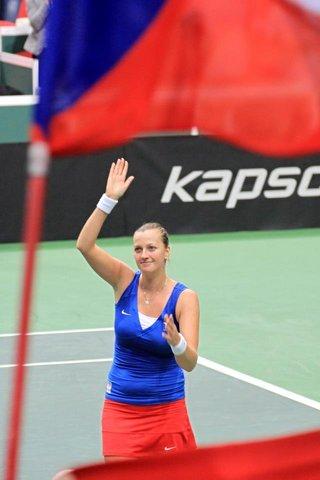 kvitova fed cup 2013