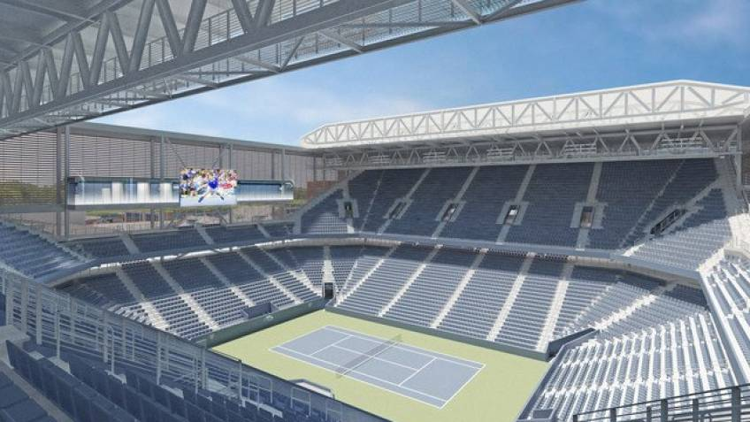 US Open Here is how new Louis Armstrong Stadium will look in 2018