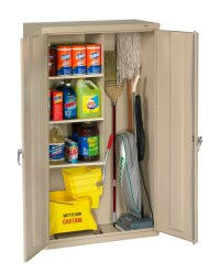 Tennsco - Storage Made Easy - Janitorial Supply Cabinet