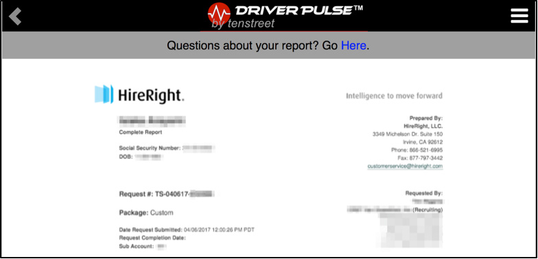 Driver Pulse Now Provides Free Copies of PSP, CDLIS, MVRs, and