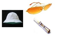 Fear and Loathing in Las Vegas White Hat Sunglasses and ...