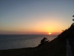 Sunset from Fort Ebey State Park