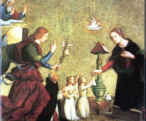 María en la obra de la Salvación