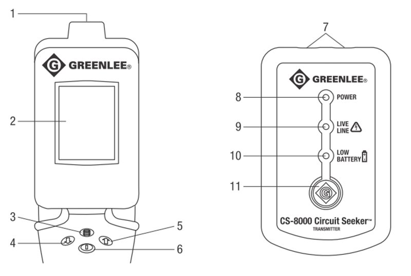 circuit seeker tracer by greenlee circuit tracers electrical power