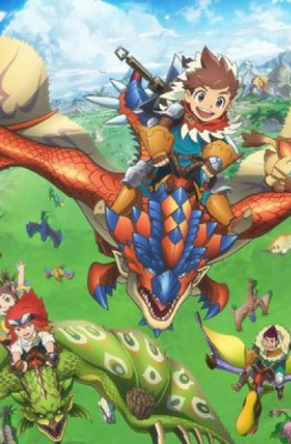 La saga de Capcom Monster Hunter Stories: RIDE ON llega por primera vez a la pequeña pantalla de Japón