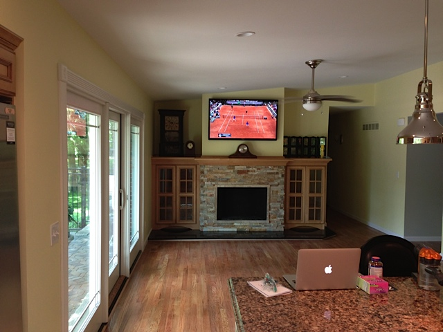 Kitchen \ Living Room Remodel - Terbrock Construction - living room remodel