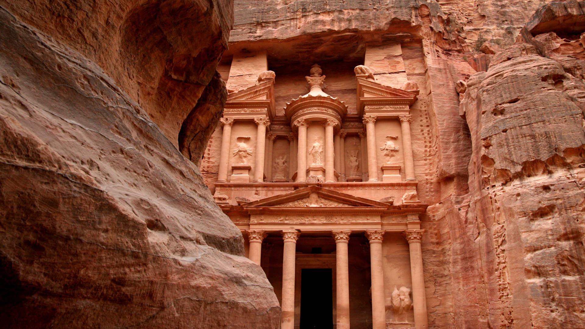 Petra Jordan Hd Wallpaper Petra Wadi Rum And Dead Sea Tour Terhaal Adventures