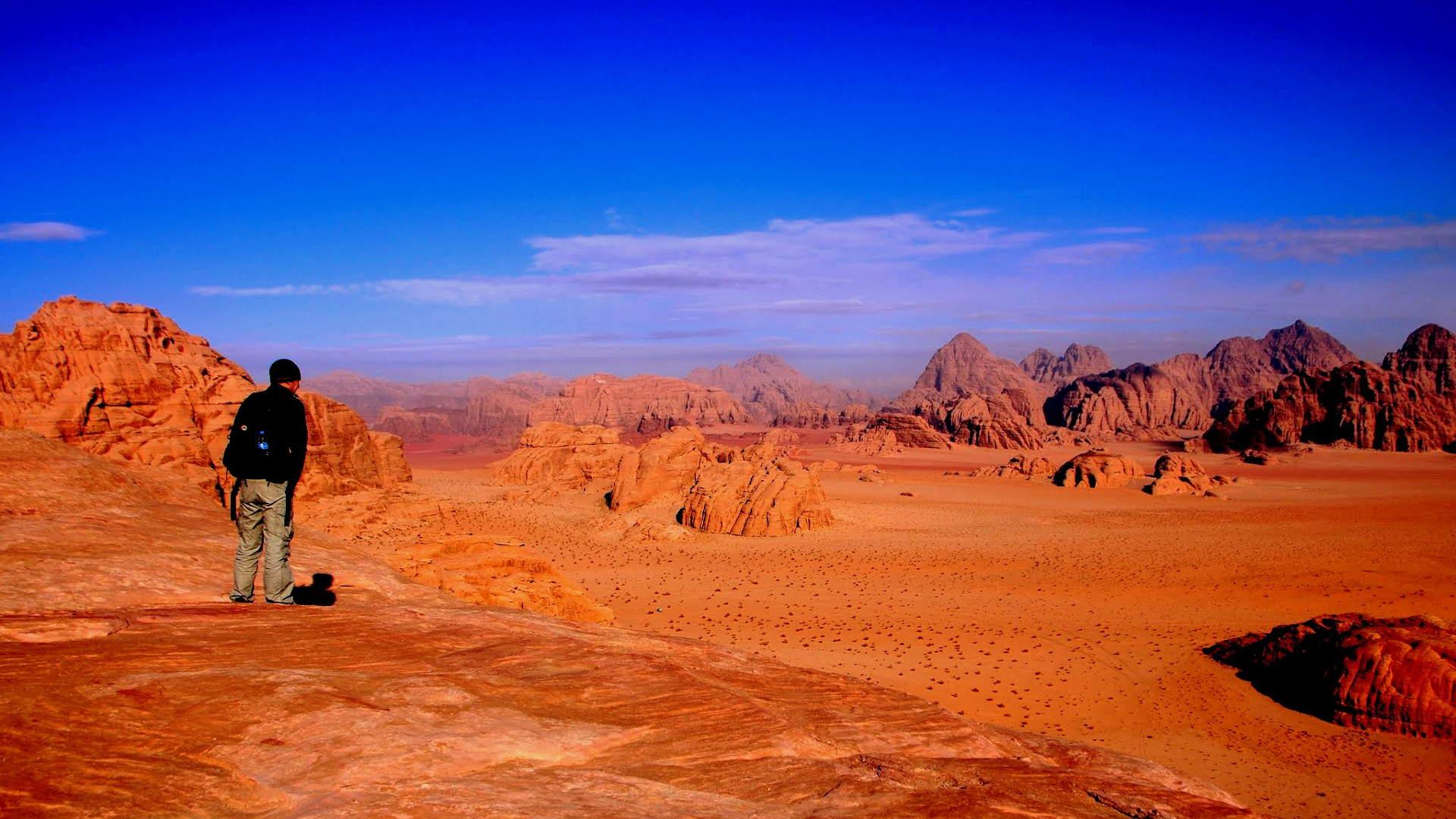 Petra Jordan Hd Wallpaper Wadi Rum Trek And Petra Trekking Holiday Terhaal