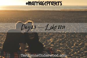#MarriagePrayers: Luke 21:4
