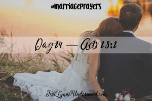 #MarriagePrayers: Acts 28:2