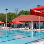 Terme Jezerčica, vanjski bazeni