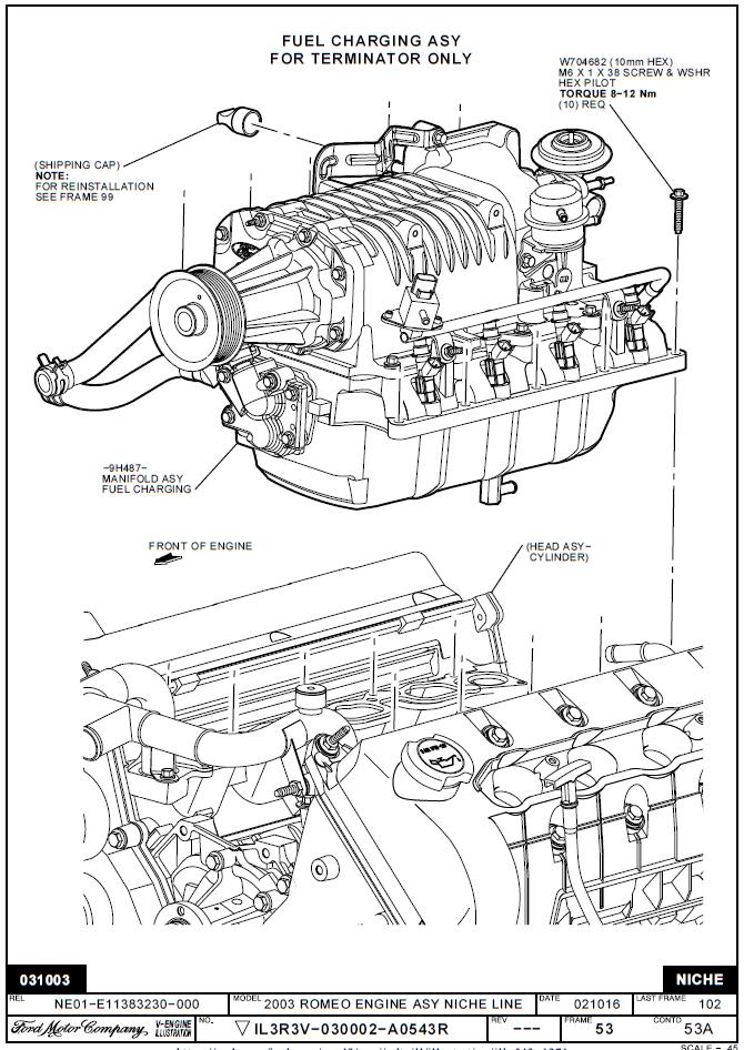 5.4 liter ford engine diagram