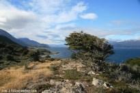 Breathtaking view of Tierra del Fuego's coastline