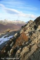 Amazing views climbing to the next level
