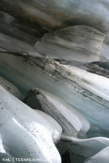 Glacier ice comes in many forms