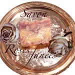 Savon Roses fanées