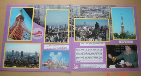 Views from Tokyo Tower Japan travel Tokyo