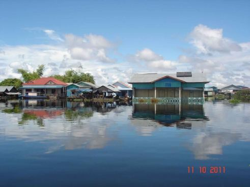 Floating Village Lake Tonle Sap