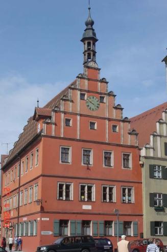 Medieval Dinkelsbuhl--Aldermans-Inn-
