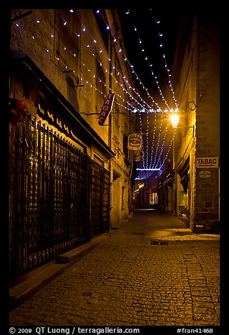 Wallpapers Of Snow Fall Picture Photo Lonely Street By Night With Tabac Sign And