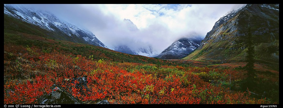 Panoramic Wallpaper Fall Panoramic Picture Photo Brooks Range Landscape In The