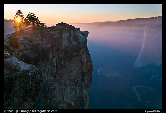 Fall Sunrise Wallpaper Picture Photo Sunset From Taft Point Yosemite National Park