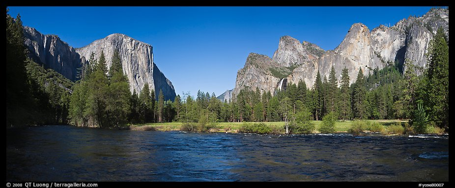 Panoramic Wallpaper Fall Panoramic Picture Photo Valley View El Capitan And