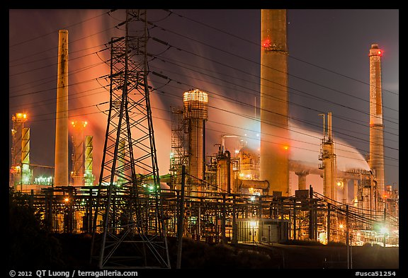 Wallpaper White Black Picture Photo Shell Refinery By Night Martinez
