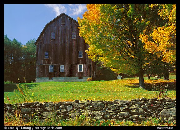 Panoramic Wallpaper Fall Picture Photo Lee Farm On Ridge Road Vermont New