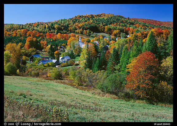Fall Hills Wallpaper Picture Photo East Topsham Village In The Fall Vermont
