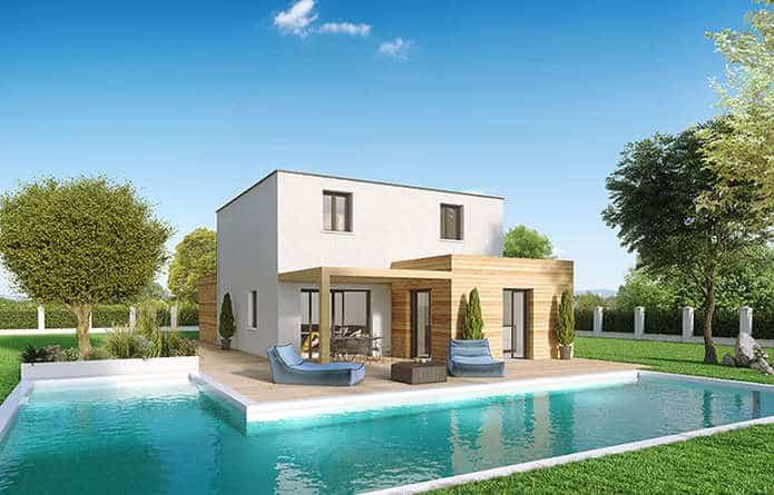 Maison moderne  14 modèles pour vous inspirer ! - Photos De Maison Moderne