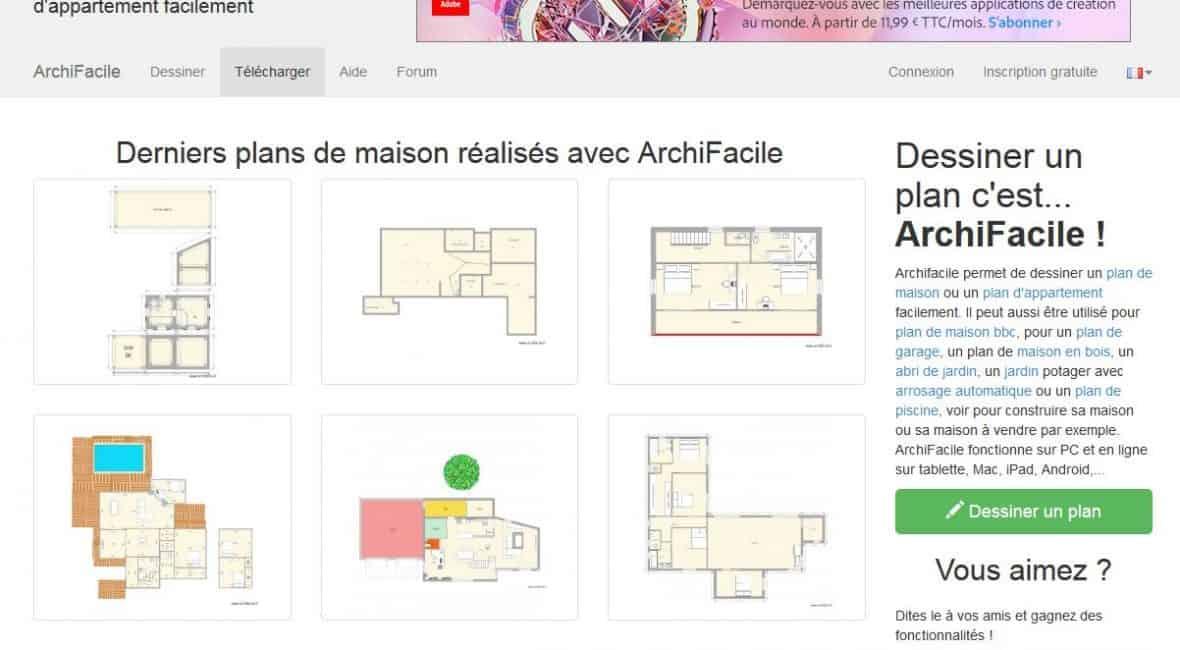 Présentation du logiciel pour plan de maison ArchiFacile - Logiciel Pour Maison D