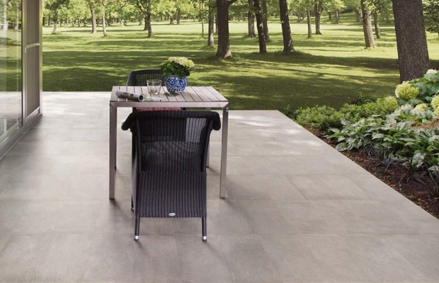 Terrasse en dalles de béton Exemples - infos  conseils de prix - Prix D Une Terrasse Beton