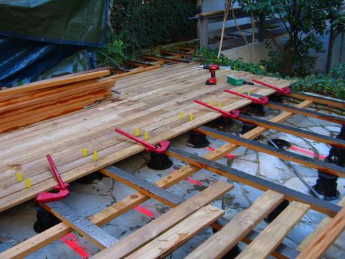 Créer une terrasse en bois - Epaisseur Lambourde Terrasse Bois