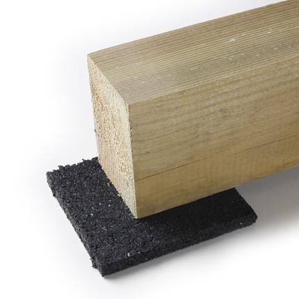Utilisation des cales pour la construction d\u0027une terrasse en bois - Epaisseur Lambourde Terrasse Bois